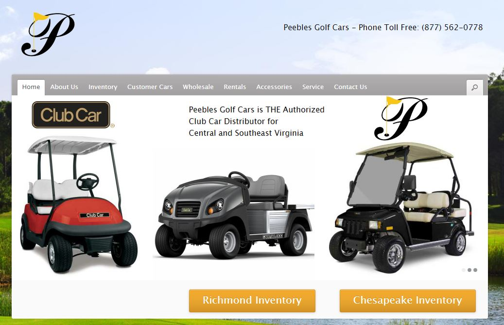 Peebles Golf Cars