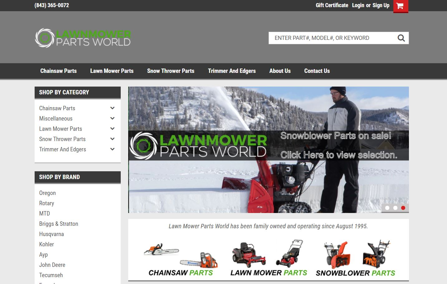 Lawn Mower Parts World