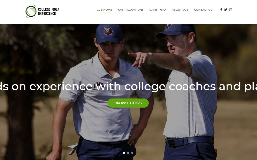 College Golf Experience